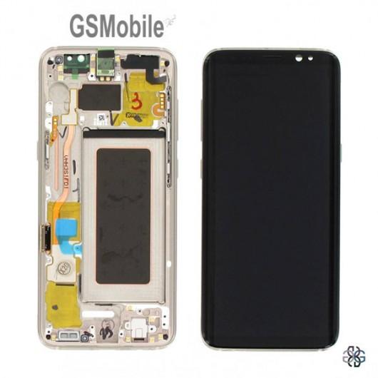 Display for Samsung S8 Galaxy G950F Gold - Original