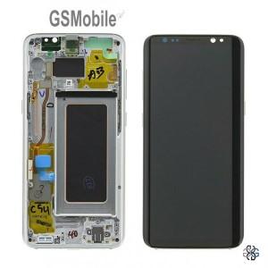 Ecrã - Display LCD Touch Samsung G950F Galaxy S8 Plata Original