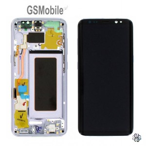 Ecrã - Display LCD Touch Samsung G950F Galaxy S8 Violeta Original