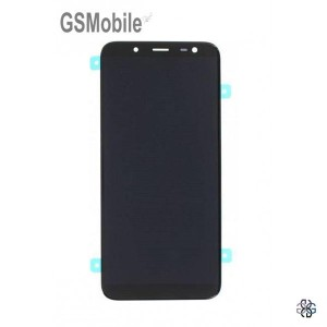 Ecrã - Display LCD Touch Samsung J6 2018 Galaxy J600F Preto Original