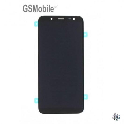 Display for Samsung J6 2018 Galaxy J600F Black - Original