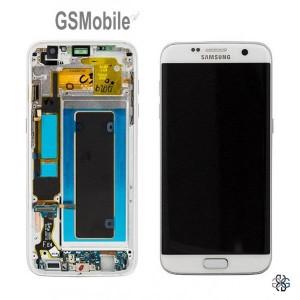 Ecrã - Display LCD Touch Samsung S7 Edge Galaxy G935F Branco Original