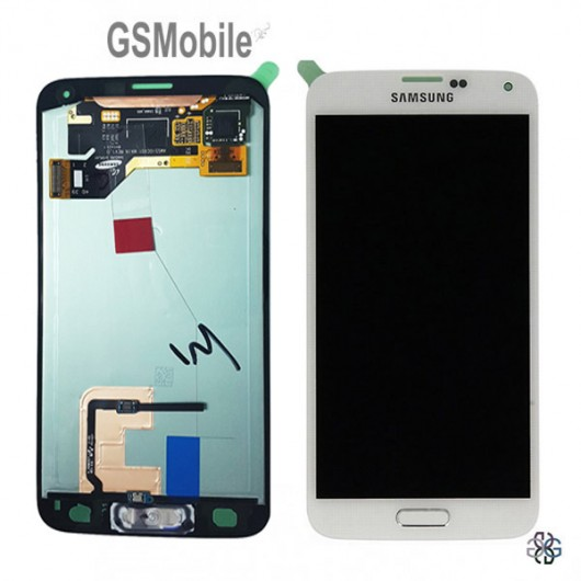Display Samsung G900F Galaxy S5 White - Original