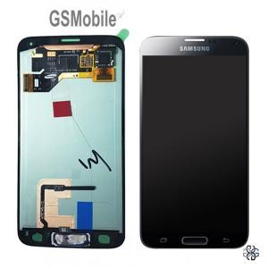 Ecrã - Display LCD Touch Samsung G900F Galaxy S5 Preto Original