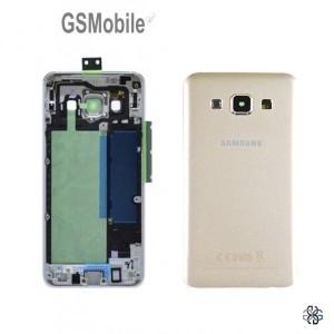Samsung A3 Galaxy A300F battery cover gold original