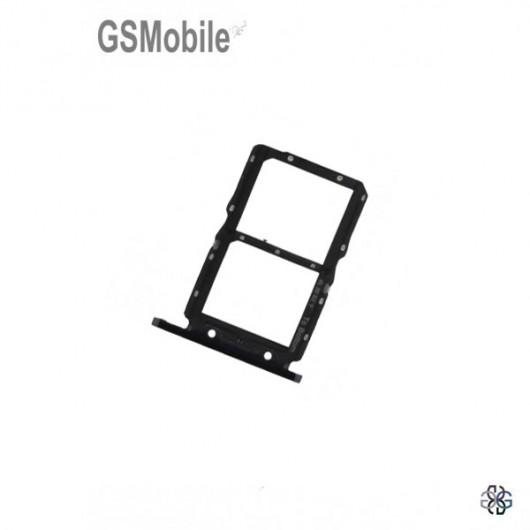 Sim Card Tray Huawei Honor 20 Black - Original
