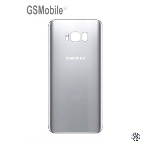 Battery Cover Samsung S8 Galaxy G950F Silver