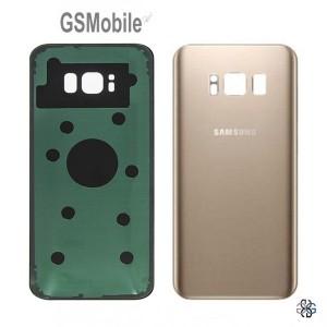 Tampa traseira Samsung S8 Galaxy G950F Dourado