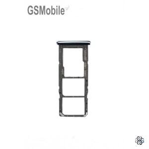 SIM card and MicroSD tray Samsung A71 Galaxy A715F Black - Original