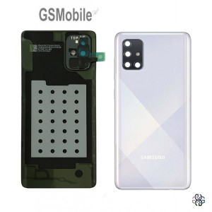 Samsung A71 Galaxy A715F Battery Cover White - Original