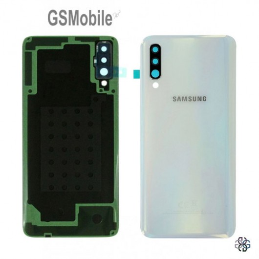 Battery Cover Samsung A30S 2019 Galaxy A307F White - Original