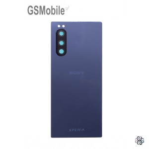 Battery Cover for Sony Xperia 5 Blue Original