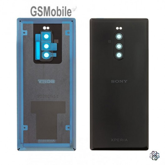 Battery cover Sony Xperia 1 Black Original