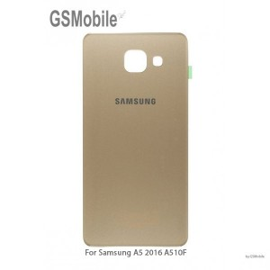 Samsung A5 2016 Galaxy A510F back cover gold