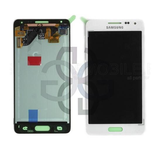 Ecrã - Display LCD Touch Samsung Alpha Galaxy G850F Branco