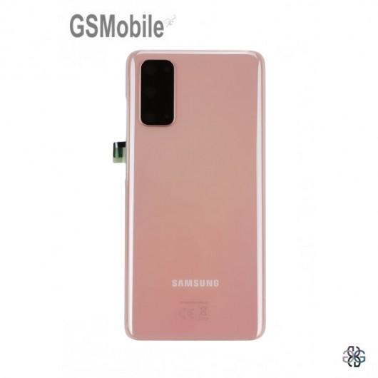 Samsung S20 Galaxy G980F Back cover Pink - Original