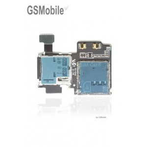 Leitor de cartões sim e sd Samsung S4 Galaxy i9505