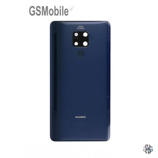 Huawei Mate 20 X back cover blue - Original