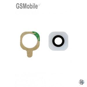 Vidro da Câmera traseira para Samsung S6 Galaxy G920F Branco