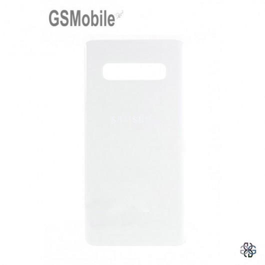 Samsung S10 Plus Galaxy G975F battery cover white