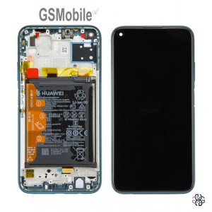 Display for Huawei P40 Lite Crush Green Original