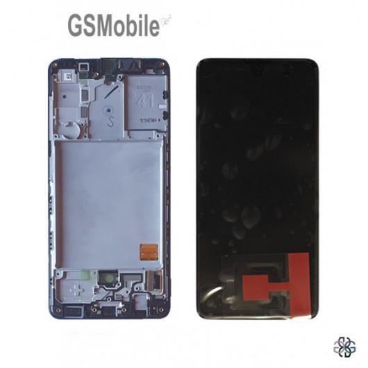 Display Samsung A41 Galaxy A415F Black