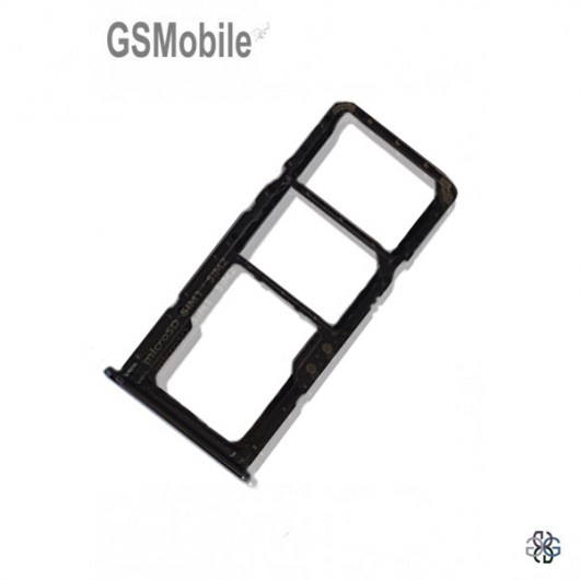 SIM card and MicroSD tray Samsung A51 Galaxy A515F Black - Original