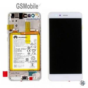 Ecrã - Display LCD Touch Huawei P10 Lite Branco Original