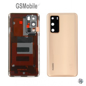 Huawei P40 battery cover gold - Original