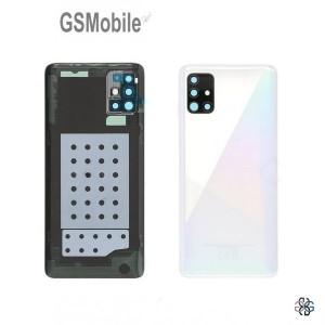 Samsung A51 Galaxy A515F battery cover white - Original