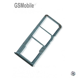 SIM card and MicroSD tray Samsung A51 Galaxy A515F Blue - Original