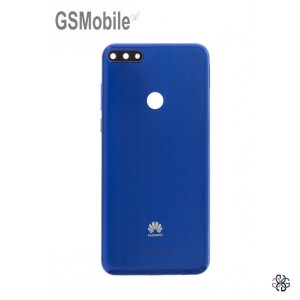 Battery cover for Huawei Y7 2018 Blue