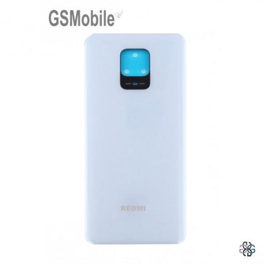 Battery Cover for Xiaomi Redmi Note 9 Pro White