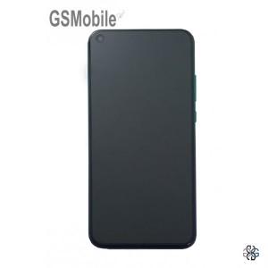 Display for Huawei P40 Lite E Blue Original