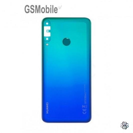 Battery Cover for Huawei P40 Lite E Blue Original