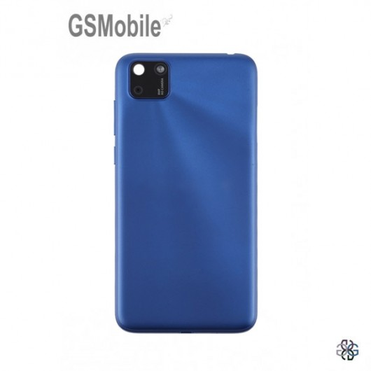 Battery Cover for Huawei Y5p Blue