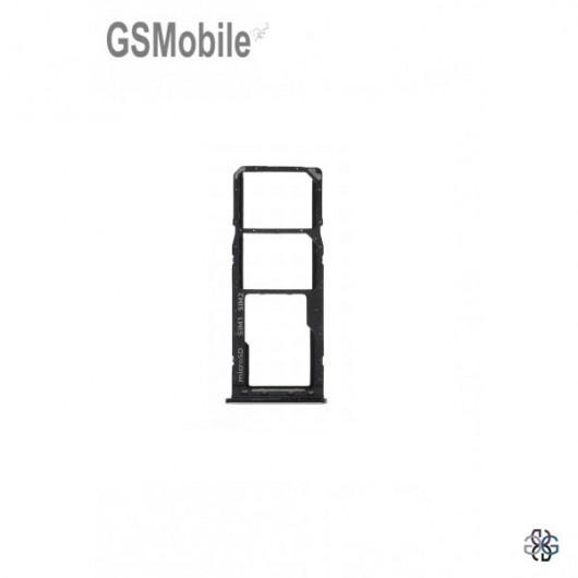 SIM card and MicroSD tray Samsung A21S Galaxy A217F Black