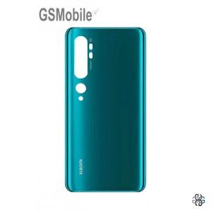 Back battery cover green Xiaomi Mi Note 10