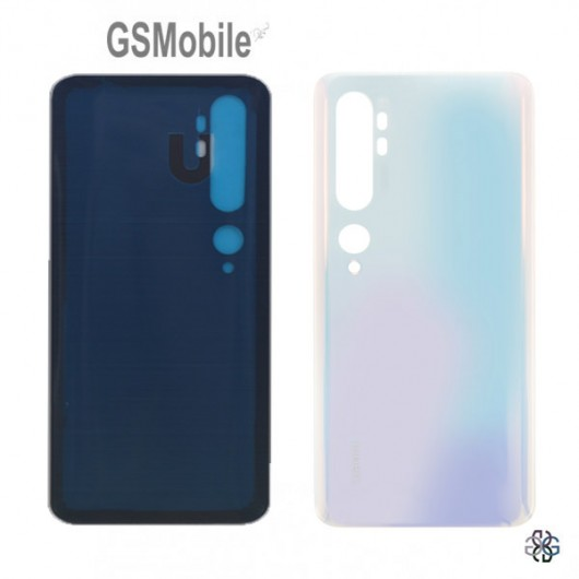 Battery Cover for Xiaomi Mi Note 10 White