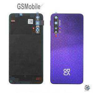 Huawei Nova 5T battery cover purple - Original