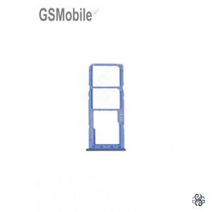 SIM card and MicroSD tray Samsung A21S Galaxy A217F Blue