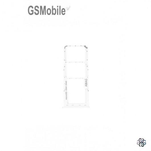 SIM card and MicroSD tray Samsung A21S Galaxy A217F White