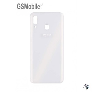 Battery Cover for Samsung A30 2019 Galaxy A305F White