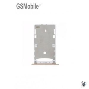 Bandeja de cartão SIM e MicroSD Xiaomi Redmi 4X Dourado