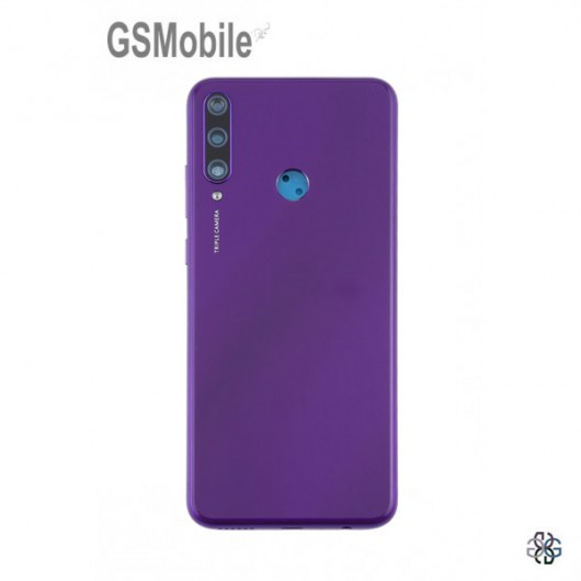 Battery Cover for Huawei Y6p Purple