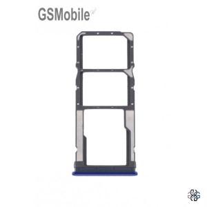 Bandeja de cartão SIM e MicroSD Xiaomi Redmi Note 8T Azul