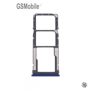 SIM card and MicroSD tray Xiaomi Redmi Note 8T Blue