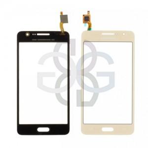 Ecrã Touch Screen dourado Samsung Grand Prime 4G Galaxy G531