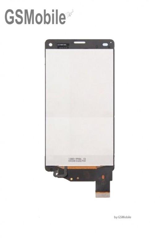 Pantalla completa Sony Xperia Z3 compact D5803 D5833 blanco