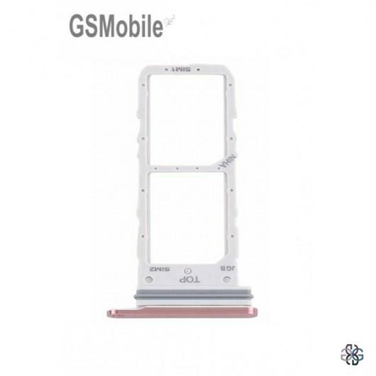 SIM card tray Samsung Note 20 Galaxy N980F Mystic Bronze Original